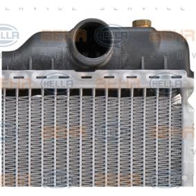 AUDI 90 (89, 89Q, 8A, B3) HELLA Wasserkühler und Kühlerdeckel 8MK 376 711-281 bestellen