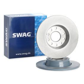1K0615601AD за VW, AUDI, MAZDA, SKODA, SEAT, Спирачен диск SWAG (30 92 4382) Онлайн магазин