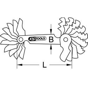 KS TOOLS Gewindelehre (301.0095) niedriger Preis