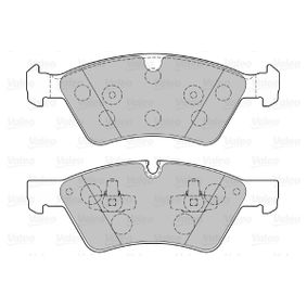 VALEO Комплект накладки 301107