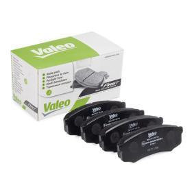 Bremsbelagsatz, Scheibenbremse VALEO Art.No - 301777 OEM: 0446660010 für TOYOTA, SUZUKI, LEXUS, WIESMANN, SATURN kaufen