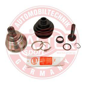 MASTER-SPORT Gelenksatz, Antriebswelle 1K0498099B für VW, AUDI, SKODA, SEAT, PORSCHE bestellen