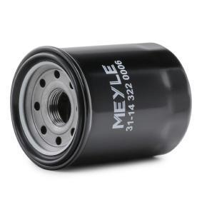 MEYLE 31-14 322 0006 Oil Filter OEM - 15400PLC003 FIAT, HONDA, GATES, ACURA, HONDA (GAC) cheaply