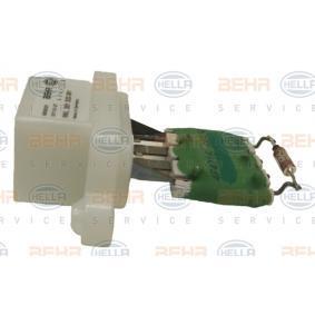 2S6H18B647AC für FORD, Widerstand, Innenraumgebläse HELLA (9ML 351 332-361) Online-Shop