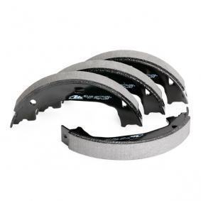 ATE Bremsebakkesæt, parkeringsbremse bagaksel, 161mm 650379 ekspertviden