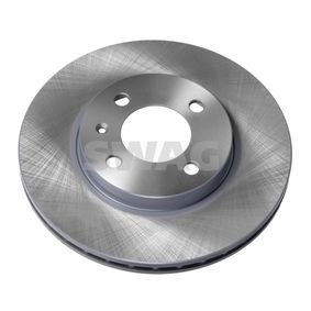 Bremsscheibe SWAG Art.No - 32 90 6512 OEM: 357615301D für VW, AUDI, SKODA, SEAT kaufen