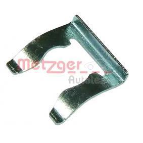 Halter, Bremsschlauch METZGER Art.No - 3207 OEM: 191611715 für VW, AUDI, SKODA, SEAT kaufen