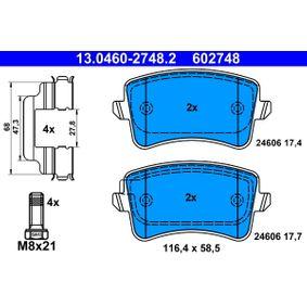 ATE Клапан, контрол на въздуха- засмукван въздух (13.0460-2748.2)