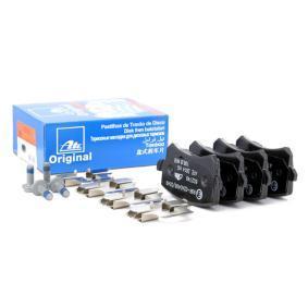 JZW698451D für VW, AUDI, SKODA, SEAT, Bremsbelagsatz, Scheibenbremse ATE (13.0460-2749.2) Online-Shop