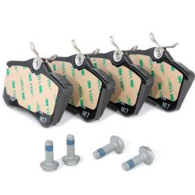 ATE MERCEDES-BENZ  CLS  autopeças: Jogo de pastilhas para travão de disco 13.0460-2820.2