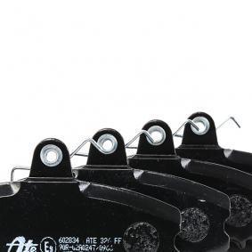 TWINGO II (CN0_) ATE Verschleißanzeige Bremsen 13.0460-2834.2