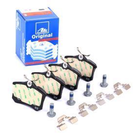 440606133R für RENAULT, RENAULT TRUCKS, Bremsbelagsatz, Scheibenbremse ATE (13.0460-2845.2) Online-Shop