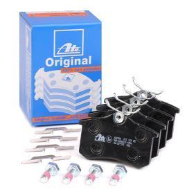1E0698451G für VW, AUDI, FORD, SKODA, SEAT, Bremsbelagsatz, Scheibenbremse ATE (13.0460-2984.2) Online-Shop