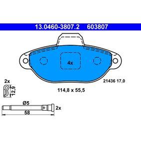 ATE FIAT PANDA Repair kit, gear lever (13.0460-3807.2)