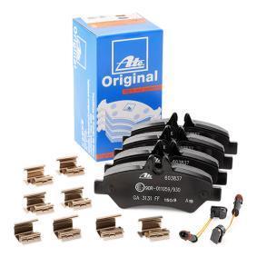 A0044206920 für VW, MERCEDES-BENZ, Bremsbelagsatz, Scheibenbremse ATE (13.0460-3837.2) Online-Shop