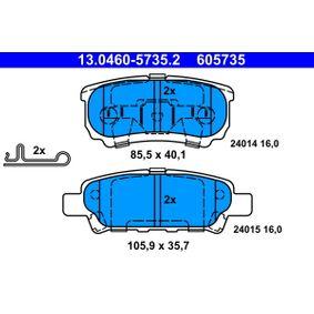 ATE CHRYSLER SEBRING Freilauf Lichtmaschine (13.0460-5735.2)