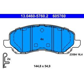 ATE CHRYSLER SEBRING Freilauf Lichtmaschine (13.0460-5760.2)