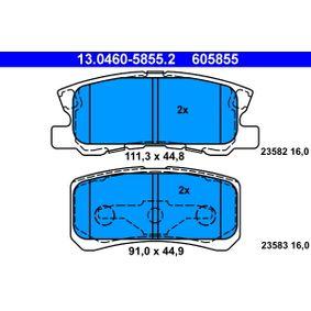 Separatore vapori olio ATE 13.0460-5855.2 popolari per MITSUBISHI ASX 1.6 MIVEC 117 CV