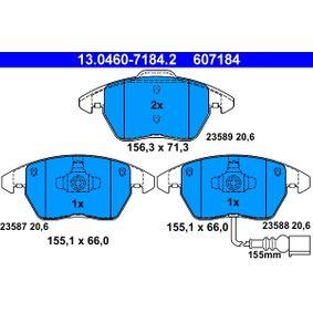 ATE SKODA OCTAVIA Upínač, výfukový systém (13.0460-7184.2)