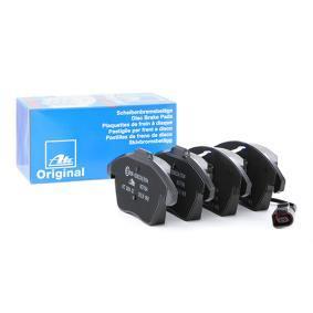 3C0698151J pour VOLKSWAGEN, AUDI, SEAT, SKODA, Kit de plaquettes de frein, frein à disque ATE (13.0460-7184.2) Boutique en ligne