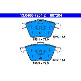 ATE VOLVO V40 Estate Brake pads (13.0460-7204.2)