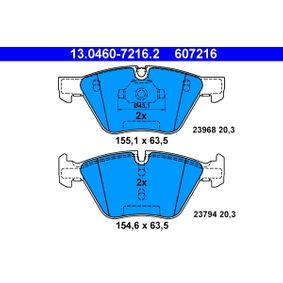 ATE BMW 3er Wasserpumpe + Zahnriemensatz (13.0460-7216.2)