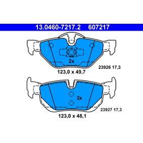 3 Touring (E91) ATE Zahnriemensatz mit Wasserpumpe 13.0460-7217.2