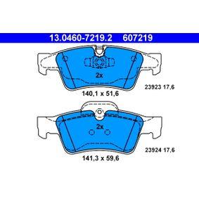 ATE Накладки за барабанни спирачки (13.0460-7219.2)