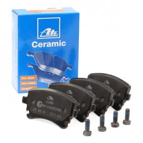 4F0698451C für VW, AUDI, SKODA, SEAT, Bremsbelagsatz, Scheibenbremse ATE (13.0470-2888.2) Online-Shop