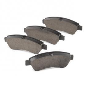 ATE 13.0470-3994.2 Brake Pad Set, disc brake OEM - 1613192280 CITROËN, PEUGEOT, PIAGGIO, HELLA, CITROËN/PEUGEOT, GLASER, SCT Germany, DS cheaply