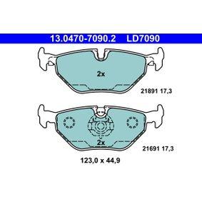 Beliebte Keilrippenriemensatz ATE 13.0470-7090.2 für BMW 5er 520 d 136 PS