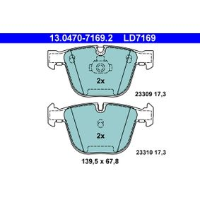 Beliebte Kofferraum Dämpfer ATE 13.0470-7169.2 für BMW 5er 545 i 333 PS