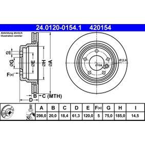 ATE Lagerung Radlagergehäuse (24.0120-0154.1)