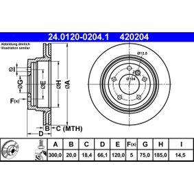 ATE Zahnriemensatz mit Wasserpumpe (24.0120-0204.1)