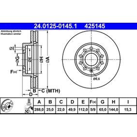 ATE Fahrwerksfedern 24.0125-0145.1