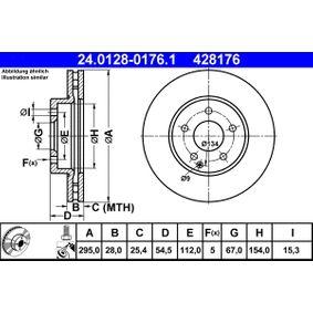 ATE MERCEDES-BENZ E-osztály Differenciál (24.0128-0176.1)