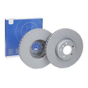 5 Limousine (E60) ATE Gasdruckdämpfer Heckklappe 24.0136-0106.2