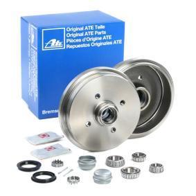 171501615 für VW, AUDI, SKODA, SEAT, PORSCHE, Bremstrommel ATE (24.0218-0707.2) Online-Shop