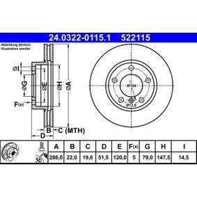 ATE Servo-frein (24.0322-0115.1)