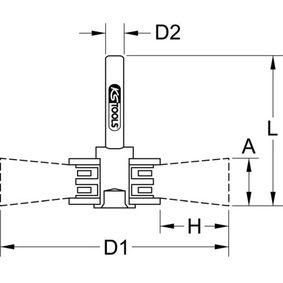 340.0031 Szczotka tarczowa, wiertarka od KS TOOLS narzędzia wysokiej jakości