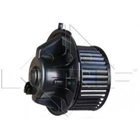 NRF 34004 Interior Blower OEM - 1K1819015E AUDI, SEAT, SKODA, VOLVO, VW, VAG, FIAT / LANCIA, VW (FAW), VW (SVW) cheaply