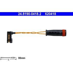 ATE Contacto de aviso, desgaste de los frenos 24.8190-0418.2