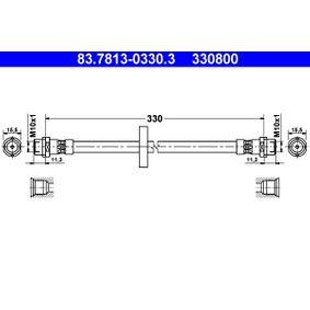 Bremsschlauch Vorderachse  preiswert  83.7813-0330.3