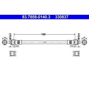 ATE Bremsschlauch (83.7858-0140.3) niedriger Preis