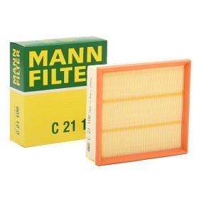 Luftfilter MANN-FILTER Art.No - C 21 106 OEM: 95513087 für OPEL, DAEWOO, BEDFORD, GMC, VAUXHALL kaufen