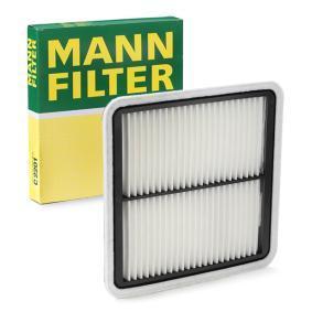 Luftfilter MANN-FILTER Art.No - C 2201 OEM: 16546AA120 für HYUNDAI, NISSAN, KIA, SUBARU, BEDFORD kaufen