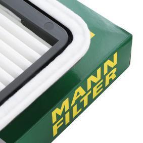MANN-FILTER C 2201 Luftfilter OEM - 16546AA120 BEDFORD, NISSAN, SUBARU, HYUNDAI, KIA, LETRIKA, WILMINK GROUP günstig
