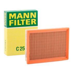 Luftfilter MANN-FILTER Art.No - C 25 114/1 OEM: 13721744869 für MERCEDES-BENZ, BMW, MINI, ALPINA kaufen