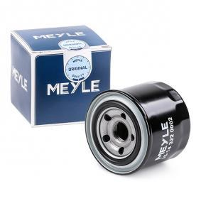 6 Hatchback (GH) MEYLE Oil filter 35-14 322 0002