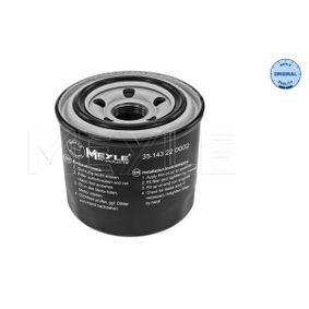 MEYLE MAZDA 5 Oil filter (35-14 322 0002)
